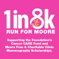 1 in 8K Run for Moore